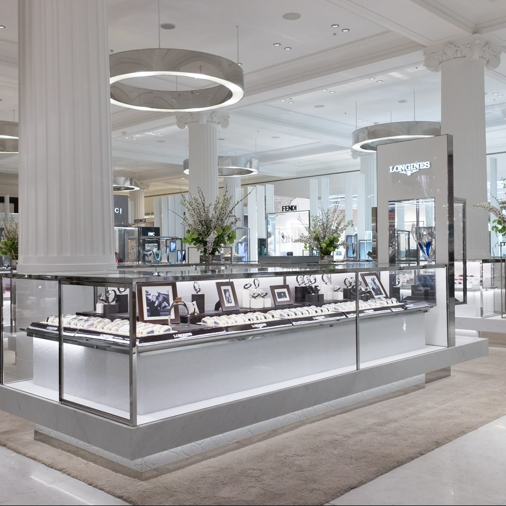 T&B (Contractors) Ltd - Cleef & Arpels concession, Wonder Room, Selfridges.  23rd February 2017